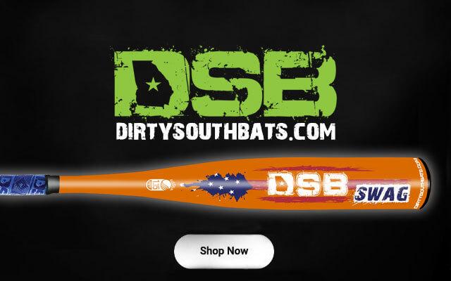 orange swag baseball bat