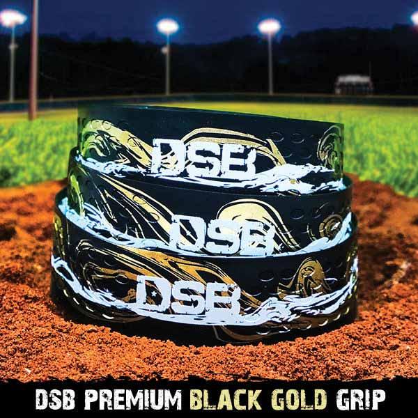 dsb black gold grip front