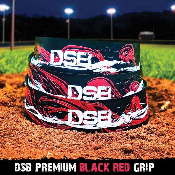 dsb black red grip front