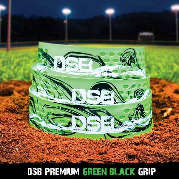 dsb green black grip front