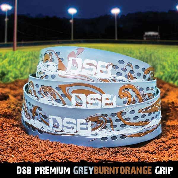 dsb grey gold grip front