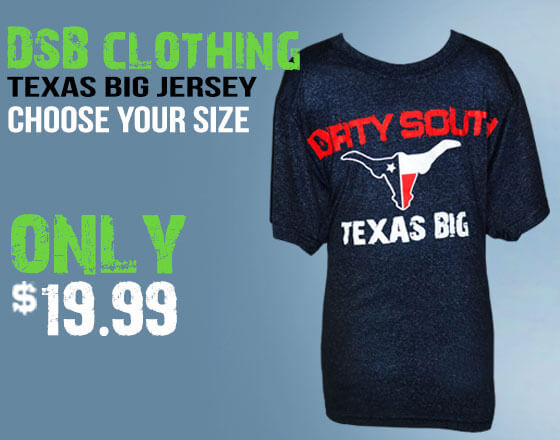 texas big shirts youth